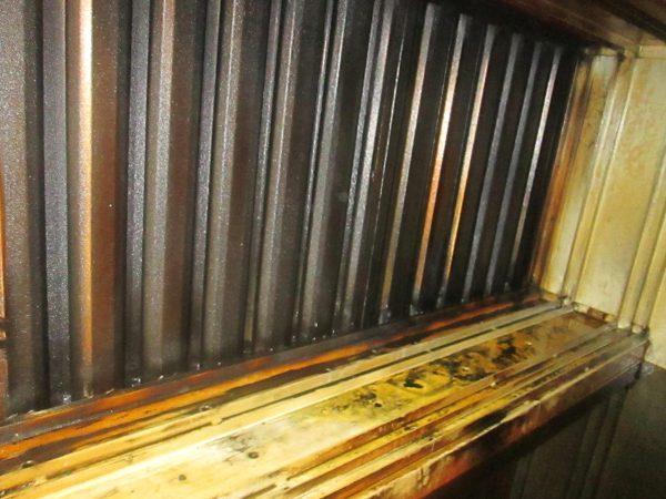 Ofen 001 600x450 Reinigung einer Ofen Abluftanlage