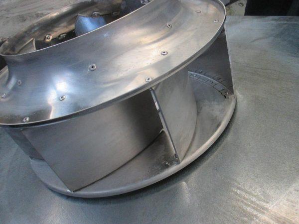 Ofen 004 600x450 Reinigung einer Ofen Abluftanlage