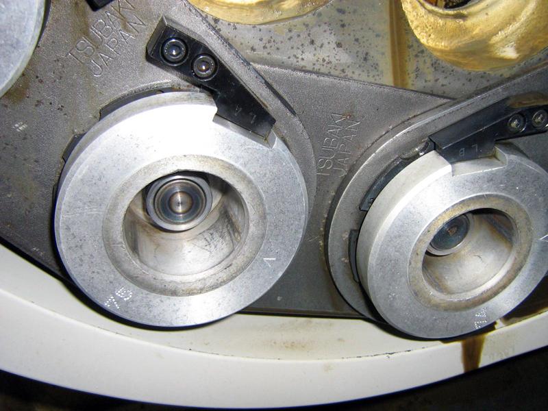 Produktionsanlage gereingt Trockeneisstrahl detail2 Reinigung mit der Trockeneis Strahltechnik