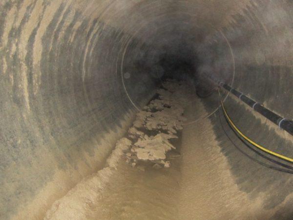 Wasserkraftwerk reinigung 2 600x450 Fallrohrreinigung eines Wasserkraftwerkes