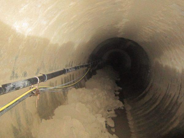 Wasserkraftwerk reinigung 3 600x450 Fallrohrreinigung eines Wasserkraftwerkes